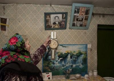 07 Maria Nichtoska decidió quedarse y vive sola en la aldea