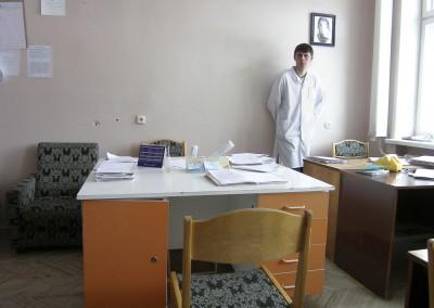 10 Hospital de medicina radiológica en Minsk