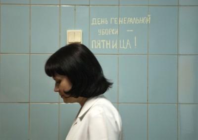 11 Bielorrusia condenada de por vida a patologías derivadas de la radioactividad